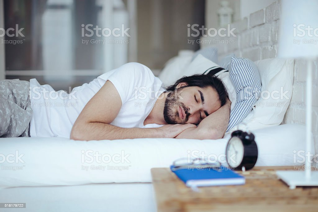 Sweet dreams stock photo