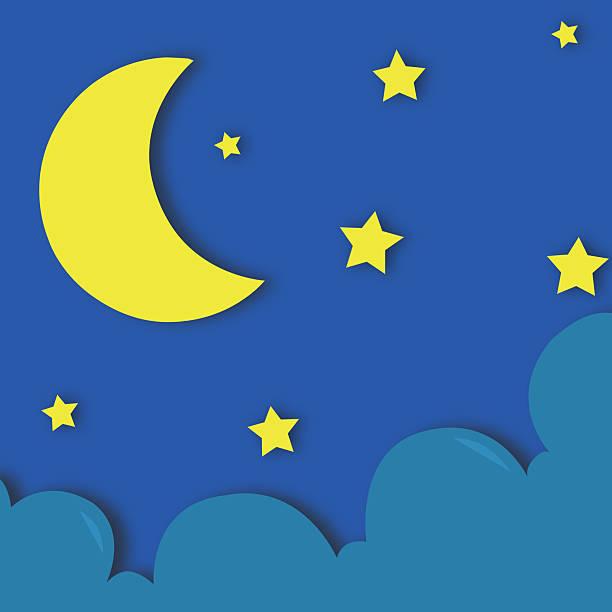 sweet dreams - sleeping illustration stockfoto's en -beelden