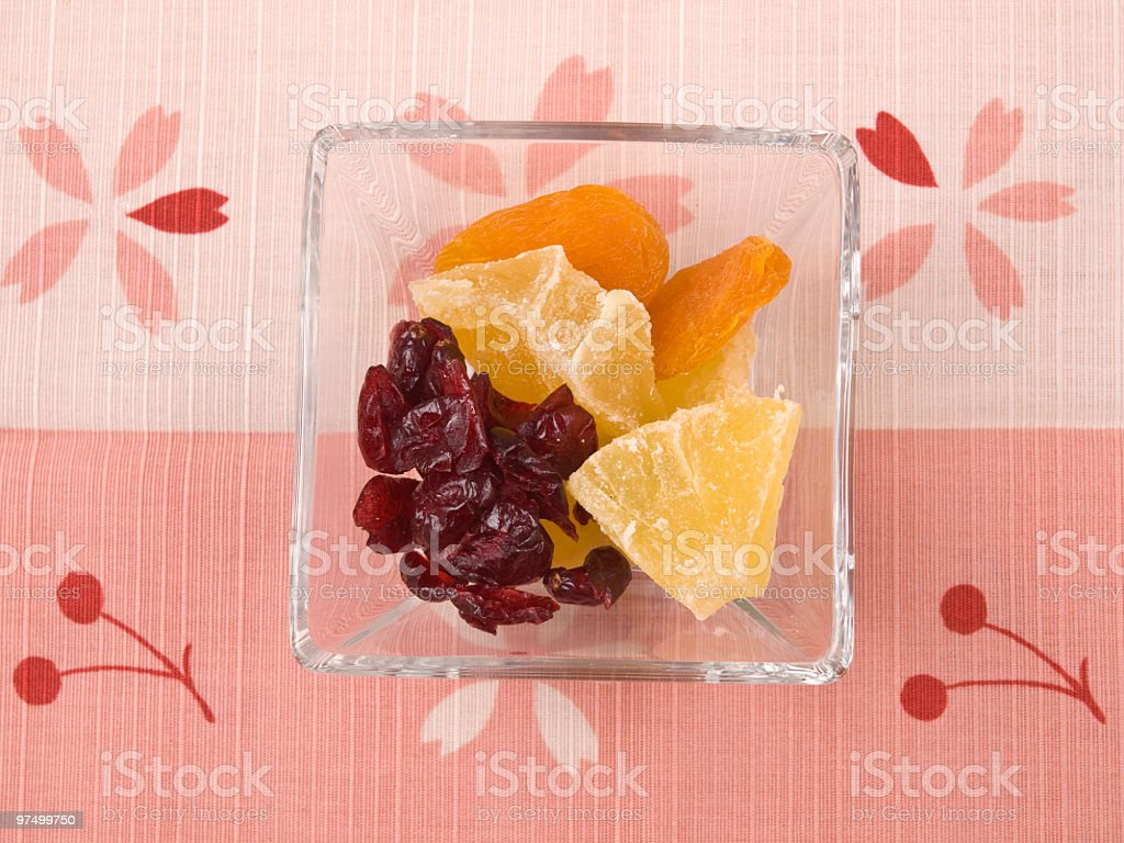 Sweet dry fruit royalty-free stock photo