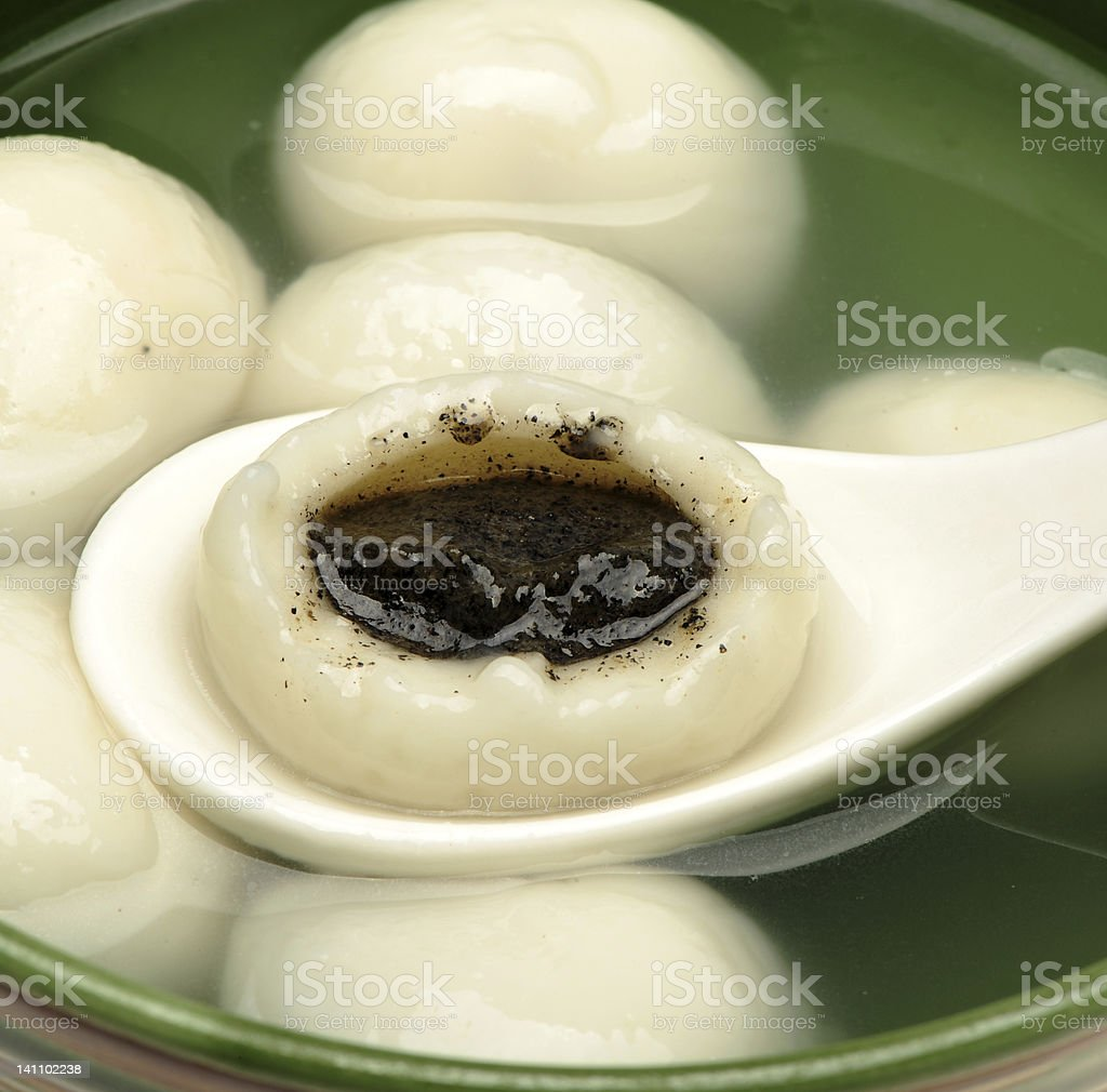 sweet dumplings stock photo