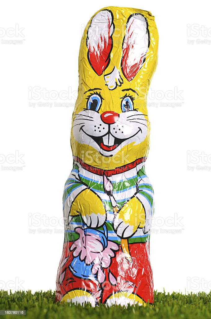 Sweet Easter bunny royalty-free stock photo