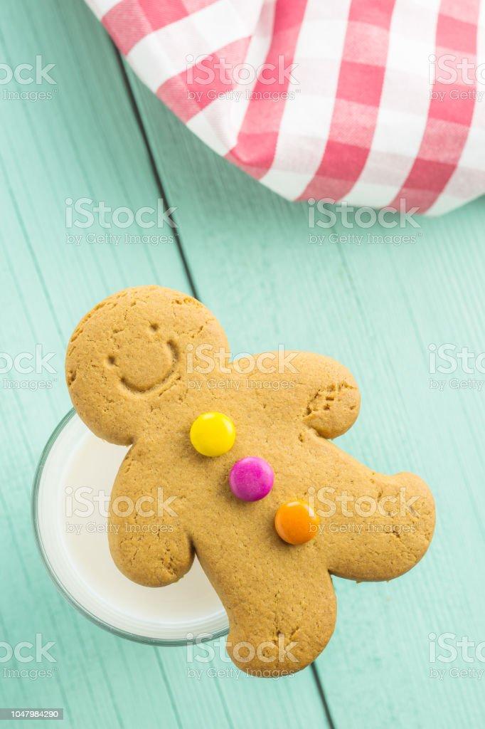 Sweet gingerbread man – zdjęcie