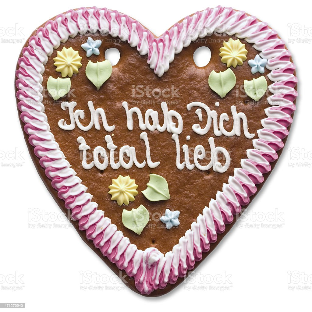 Sweet Heart (with clipping path) stock photo