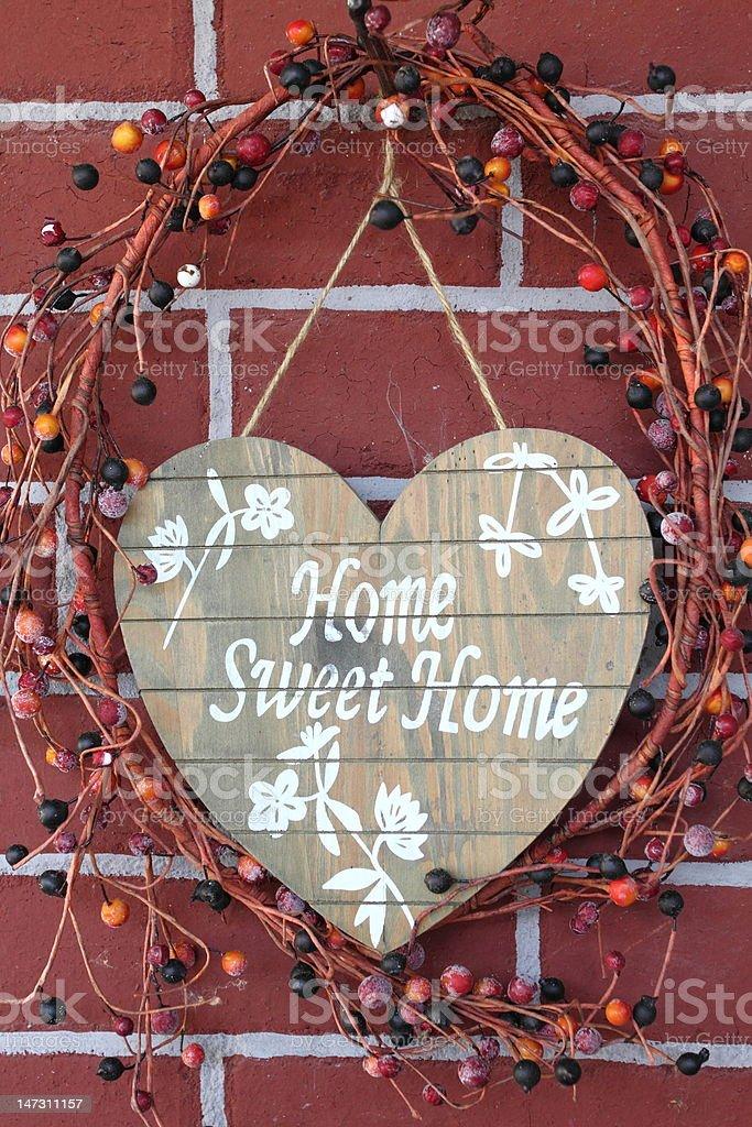 sweet home stock photo