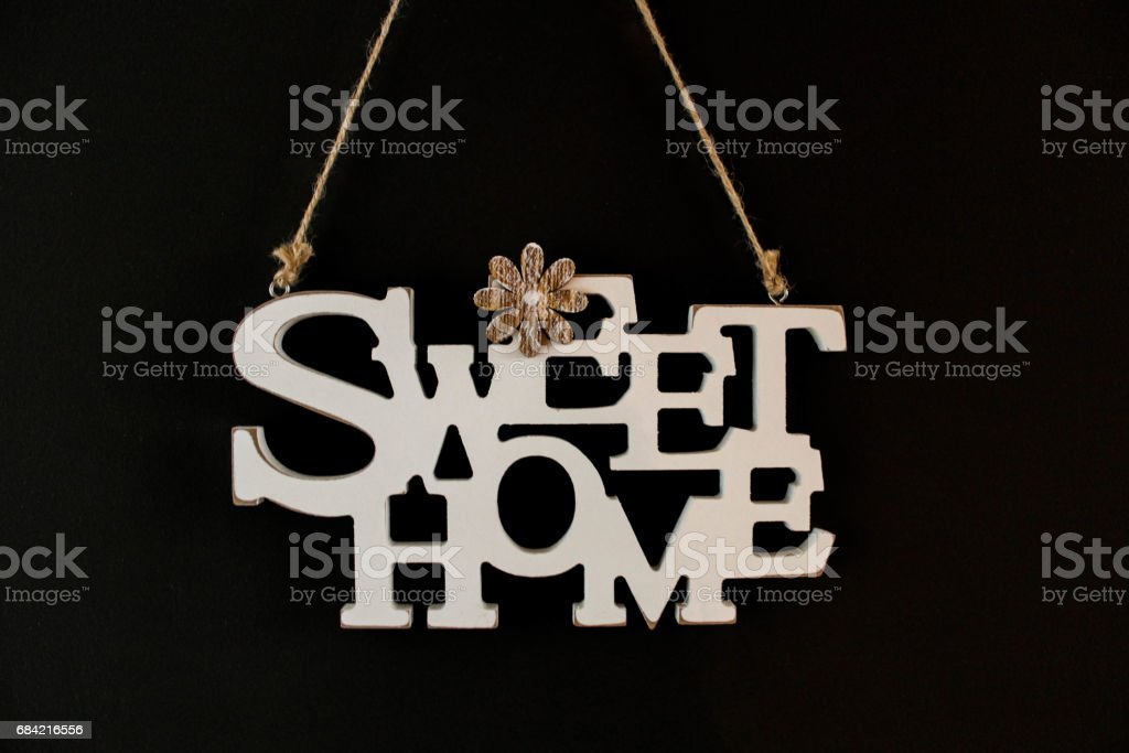 Sweet Home royalty-free stock photo