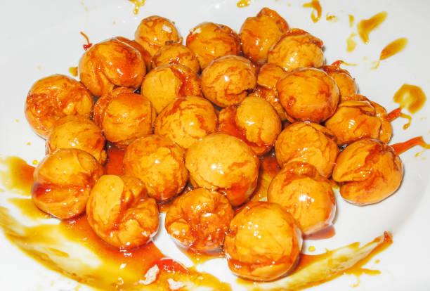Cтоковое фото Sweet honey balls