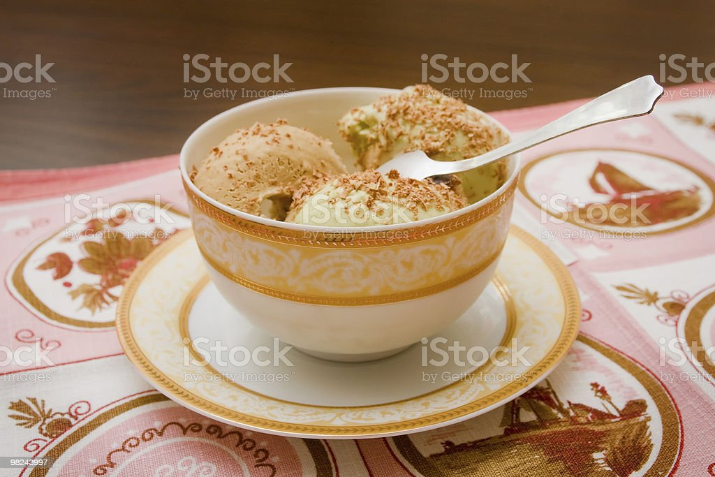 Sweet ice cream royalty-free stock photo