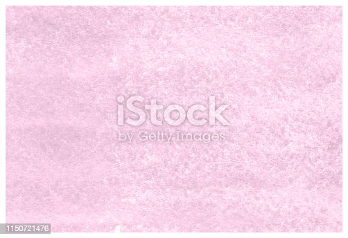 istock Sweet Lilac grunge aquarelle painted paper textured canvas for vintage design, invitation card, template. 1150721476