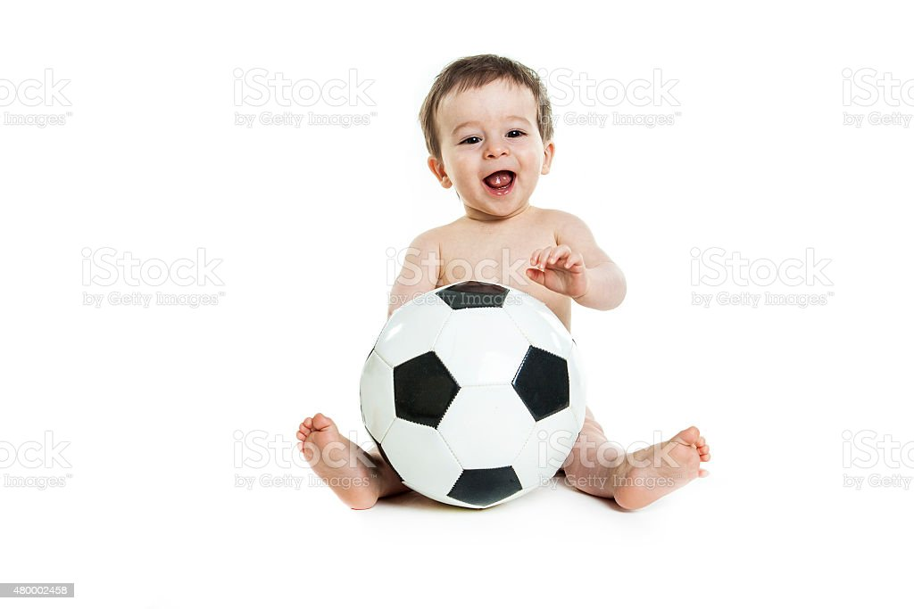 Sweet little boy sala de estar - foto de stock
