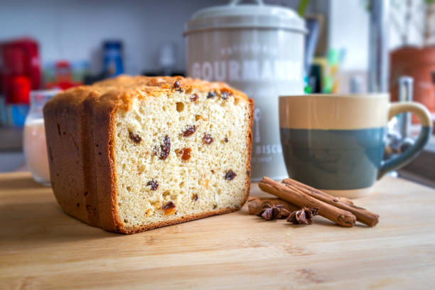 Sweet loaf stock photo