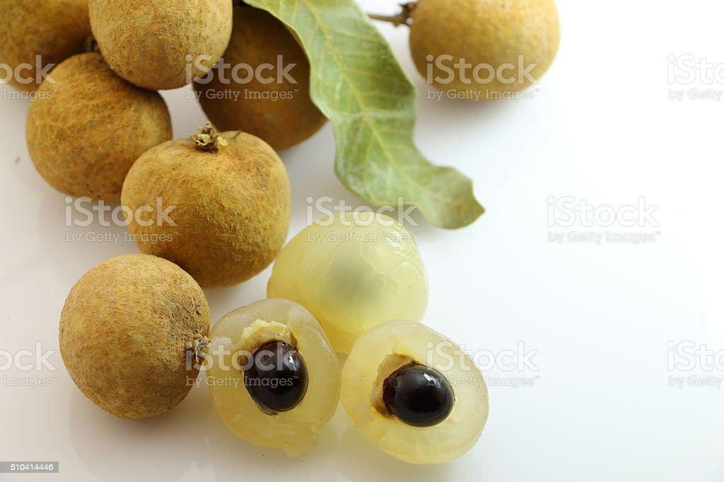 Sweet longan stock photo