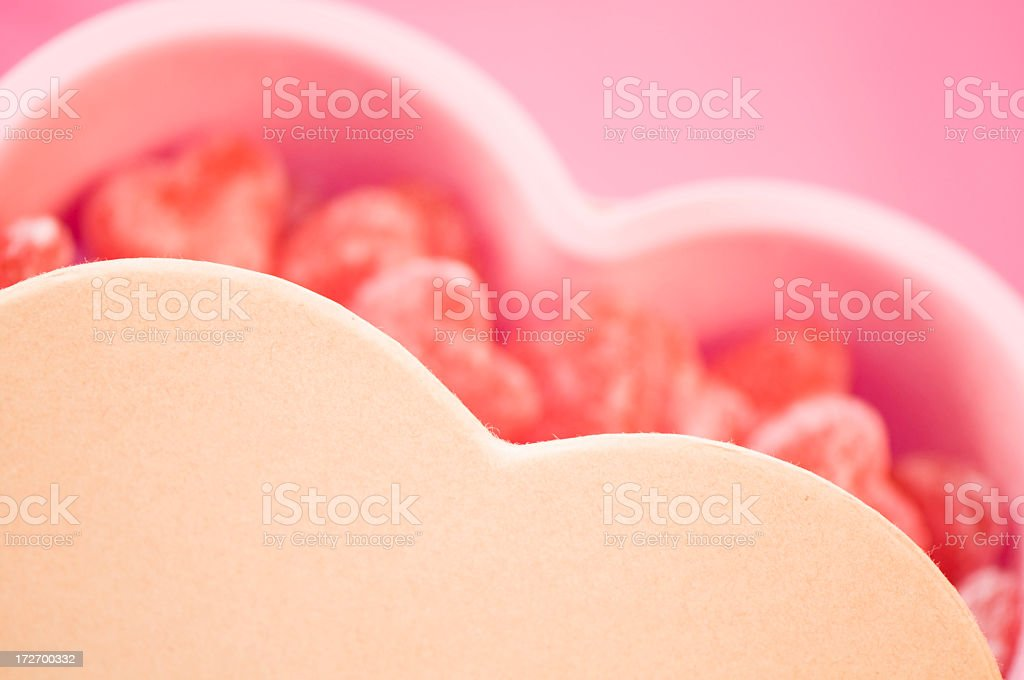 Sweet love gift royalty-free stock photo