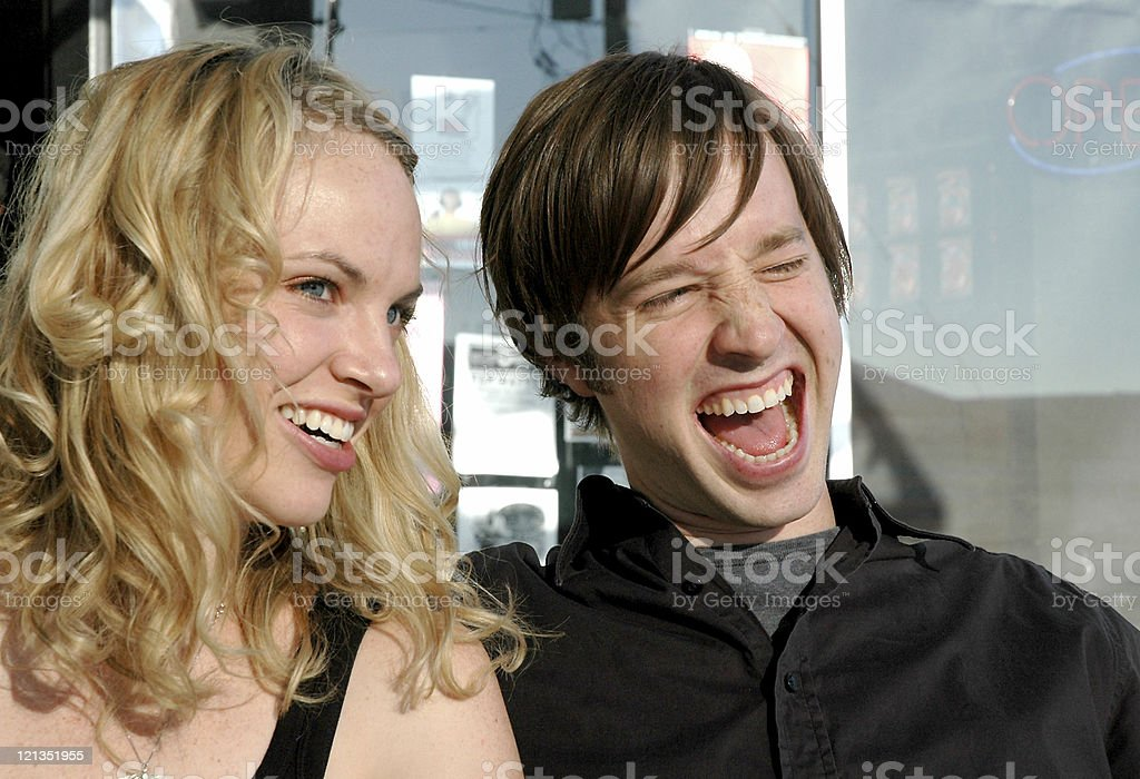Sweet Love Series: Couple Laughing royalty-free stock photo