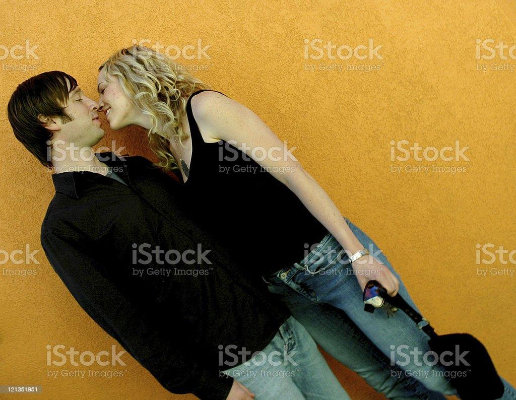 Sweet Love Series - Cute Couple royalty-free stock photo