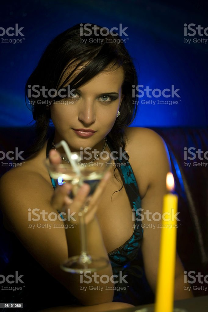 Sweet martini royalty-free stock photo