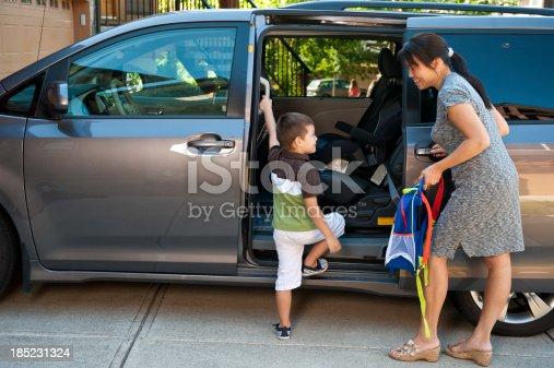 istock Sweet Minivan Action 185231324