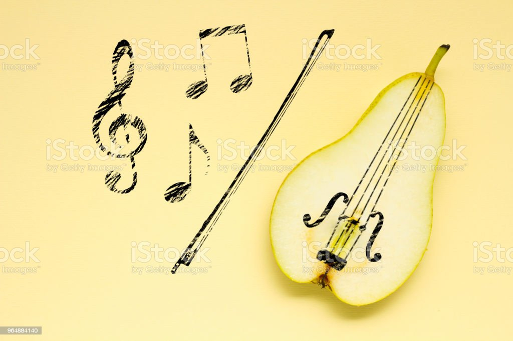 Sweet music. royalty-free stock photo