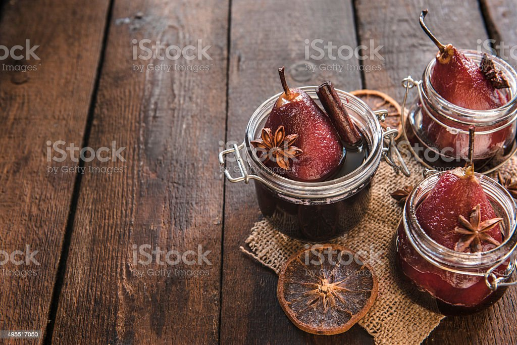 Sweet pears stock photo