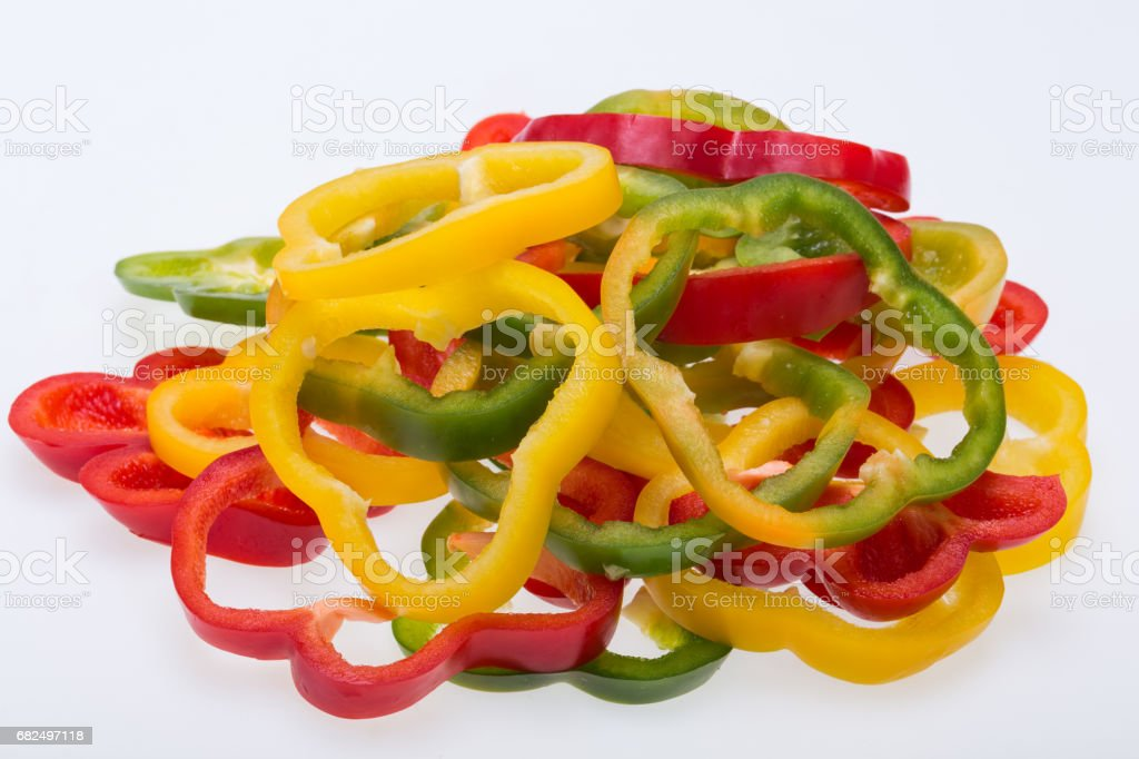 sweet pepper royalty-free stock photo