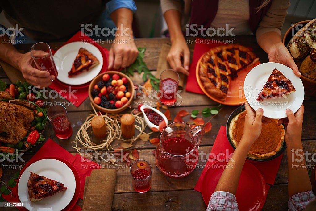 Sweet pie stock photo