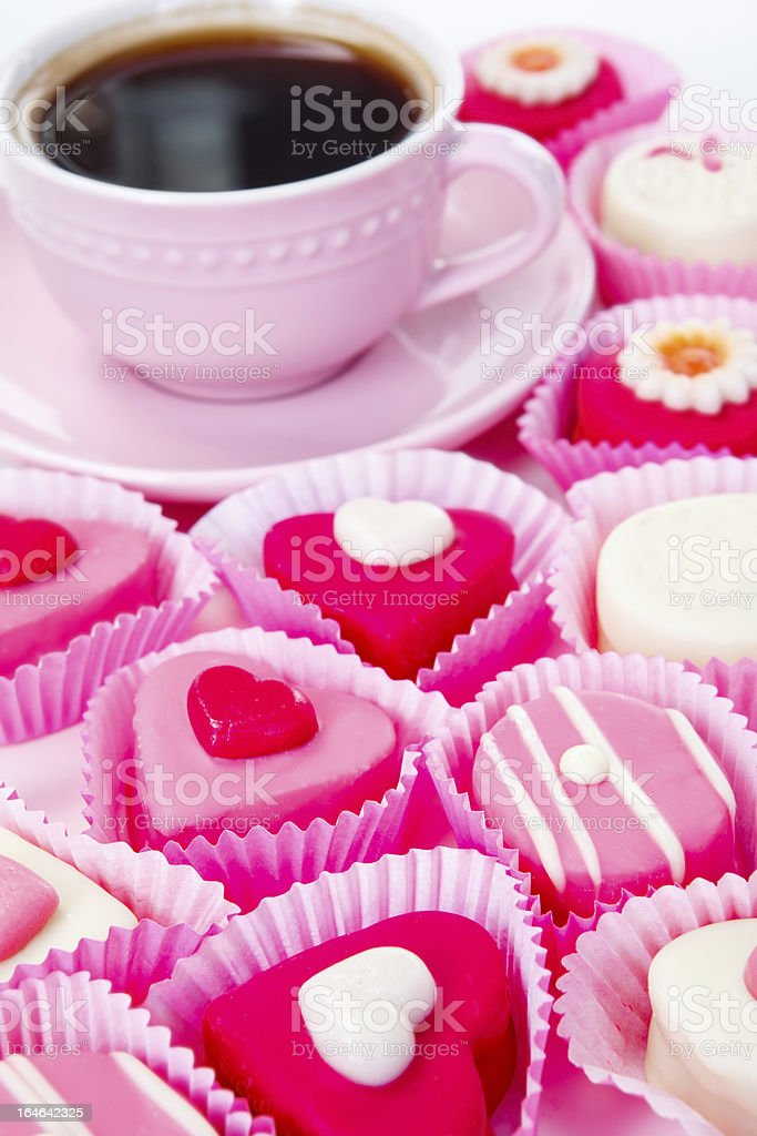 Sweet pink arrangement royalty-free stock photo