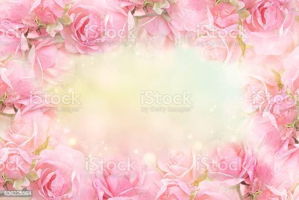 Sweet pink rose flower frame on soft bokeh vintage background picture id636228564?b=1&k=6&m=636228564&s=612x612&h=kwqdecex3brqf jria23ykrywbjnpfouvafqrp2nneo=