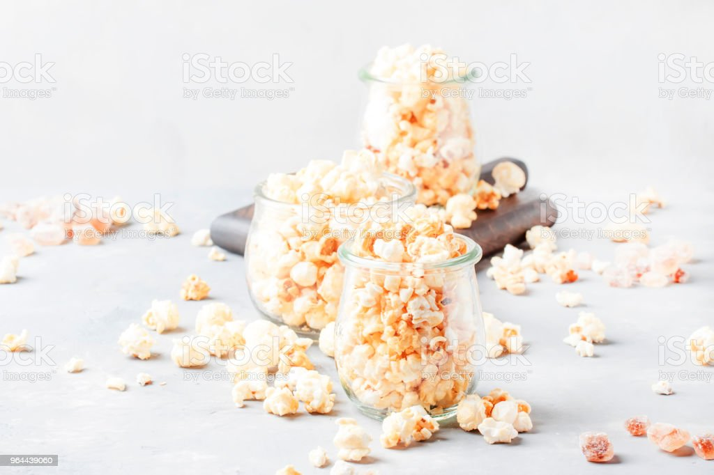 Sweet popcorn, junk food - Royalty-free Appetizer Stock Photo