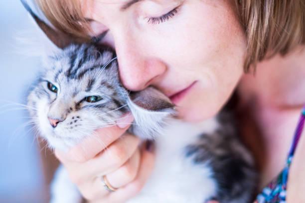 Sweet portrait closeup for couple of young woman and cat hugs and picture id1042419254?b=1&k=6&m=1042419254&s=612x612&w=0&h=svzcblvcjoaoprdux 8soduwpadc7f1ev5jomsbu448=