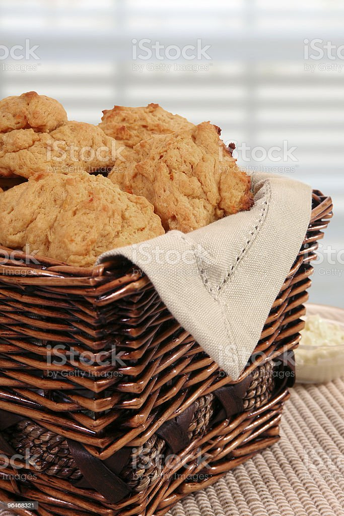 Sweet Potato Biscuits royalty-free stock photo