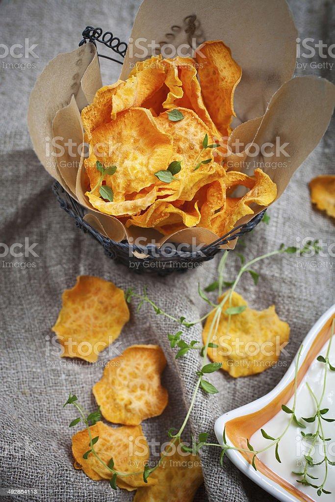 Sweet potato chips – Foto