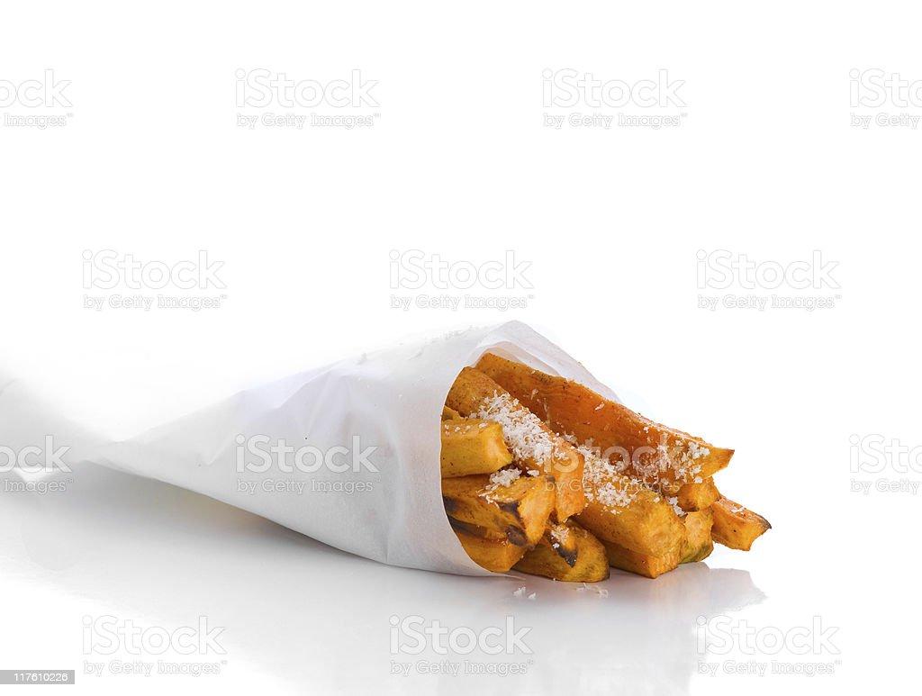 sweet potato fries 3 royalty-free stock photo
