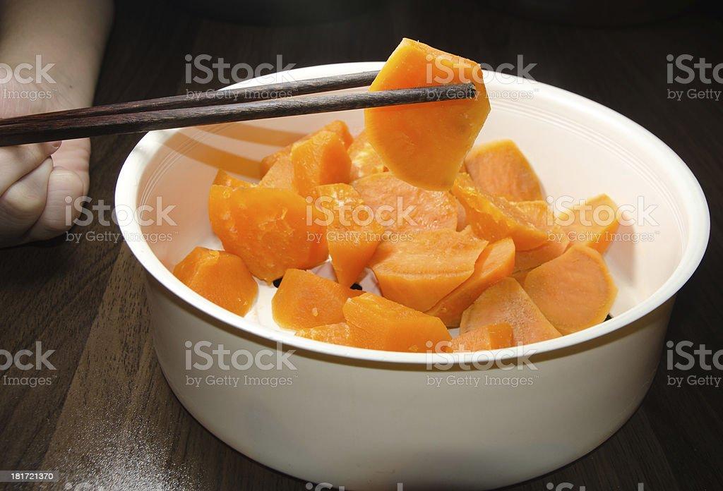sweet potato royalty-free stock photo