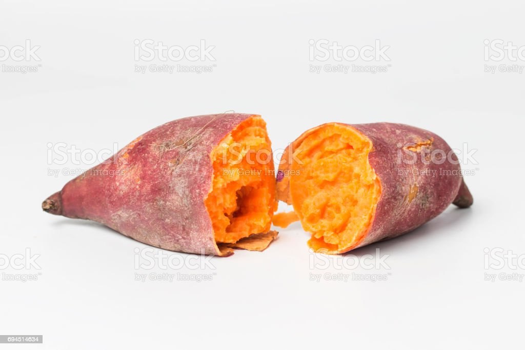 Sweet potato stock photo