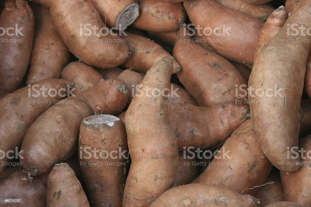 sweet potato royalty-free stock photo