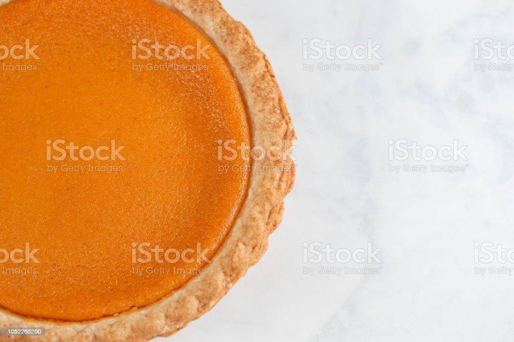 A fresh homemade sweet potato pie