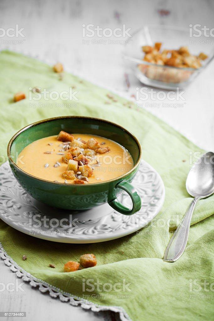 Sweet potato soup – Foto