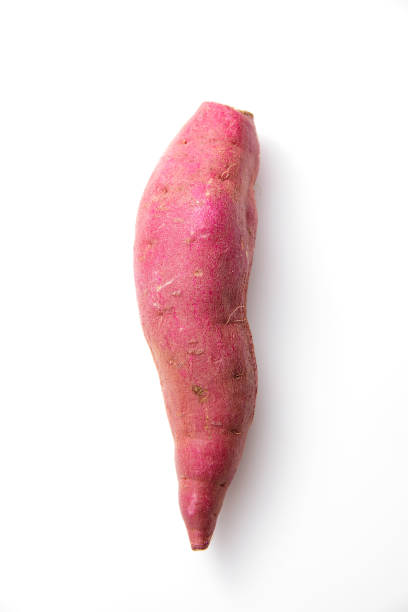 sweet potatoes on white sweet potatoes on white sweet potato stock pictures, royalty-free photos & images