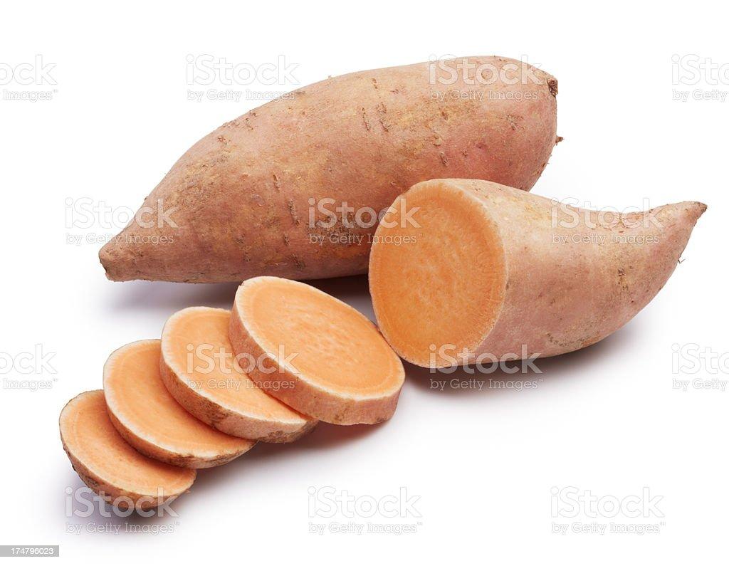 Batatas-doce - fotografia de stock