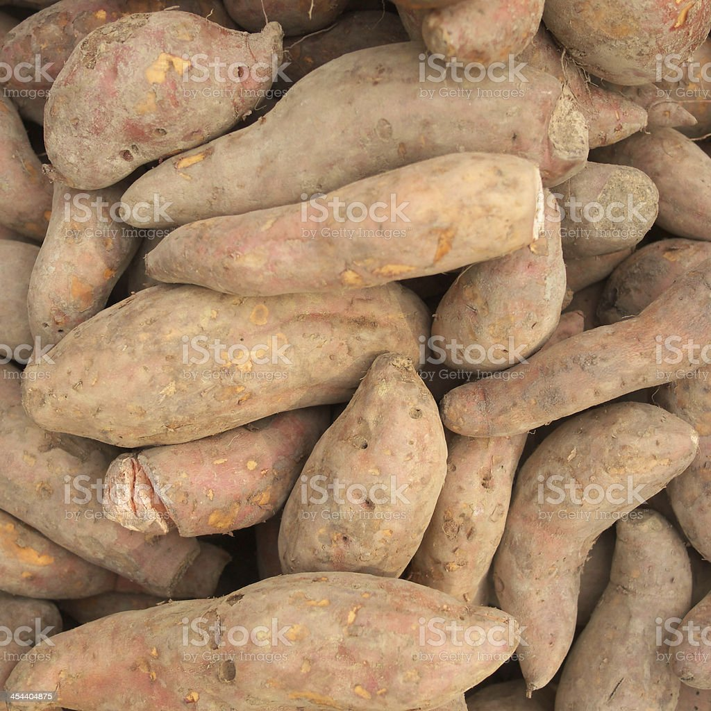 sweet potatoes royalty-free stock photo