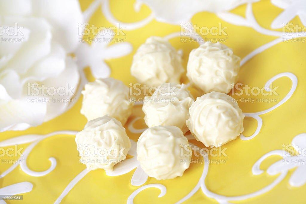 Sweet pralines royalty-free stock photo