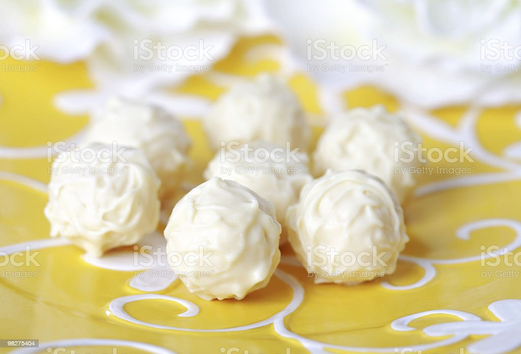 Sweet pralines royalty-free stock photo