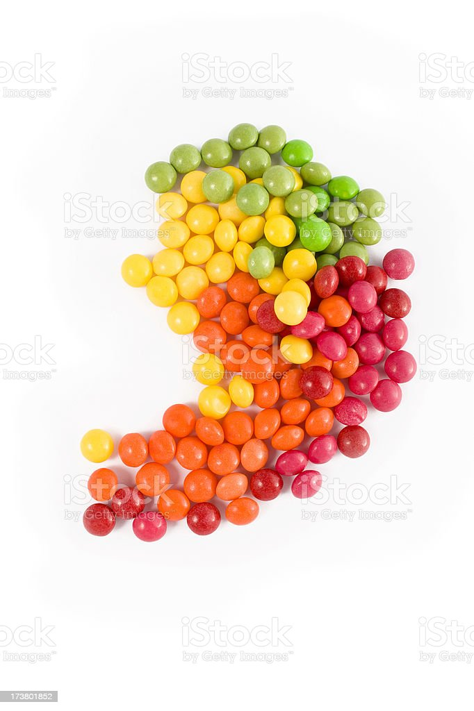 Sweet punctuation royalty-free stock photo
