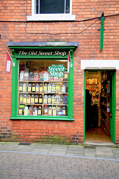 Sweet Shop. stock photo