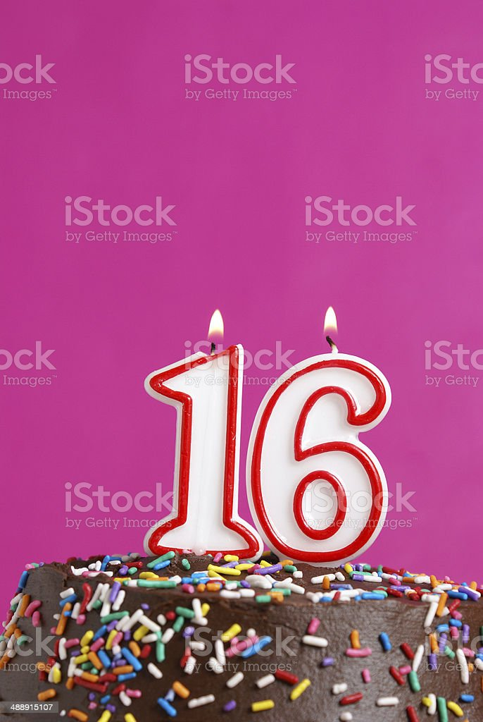 Sweet Sixteen stock photo