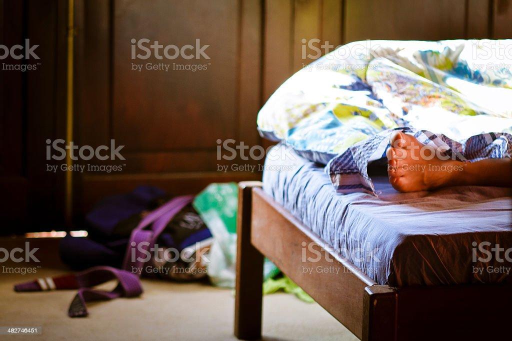 sweet slumber stock photo