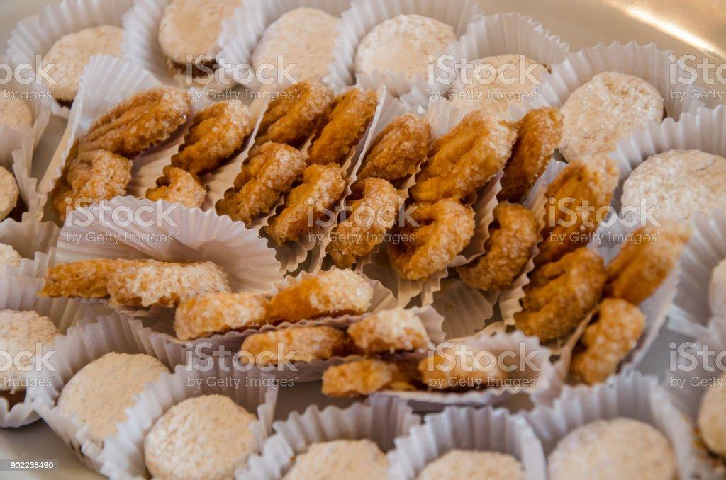 Refrigerios dulces - foto de stock