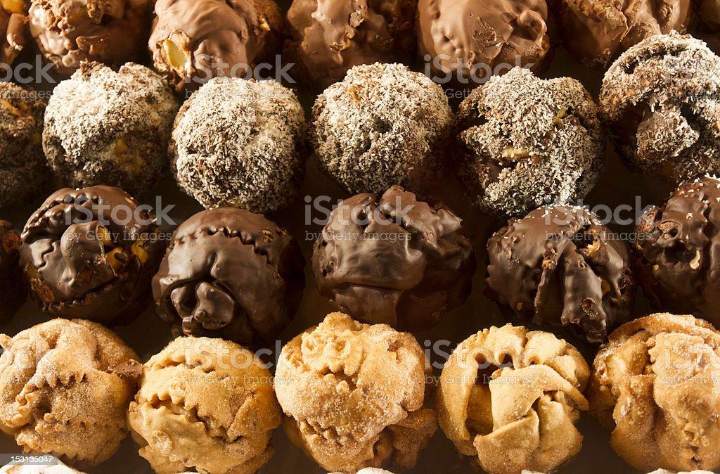 Sweet Snowballs royalty-free stock photo