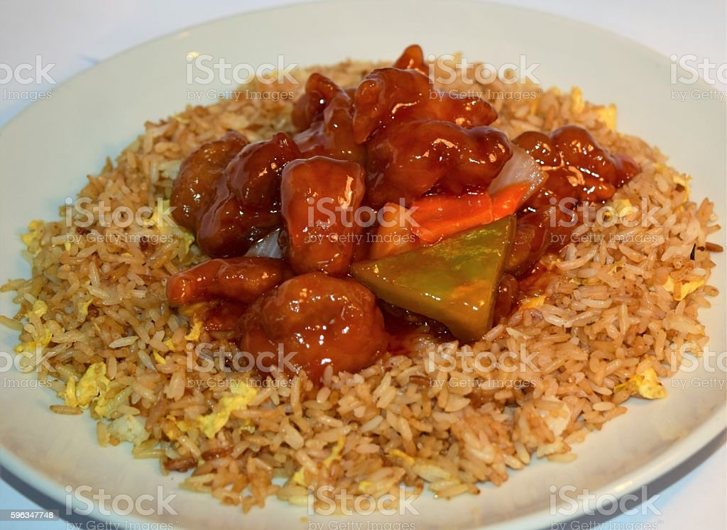 Sweet & Sour royalty-free stock photo