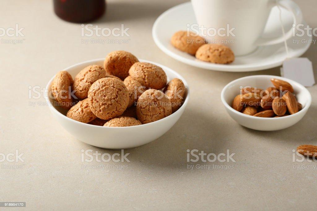 Sweet sugar cookies stock photo