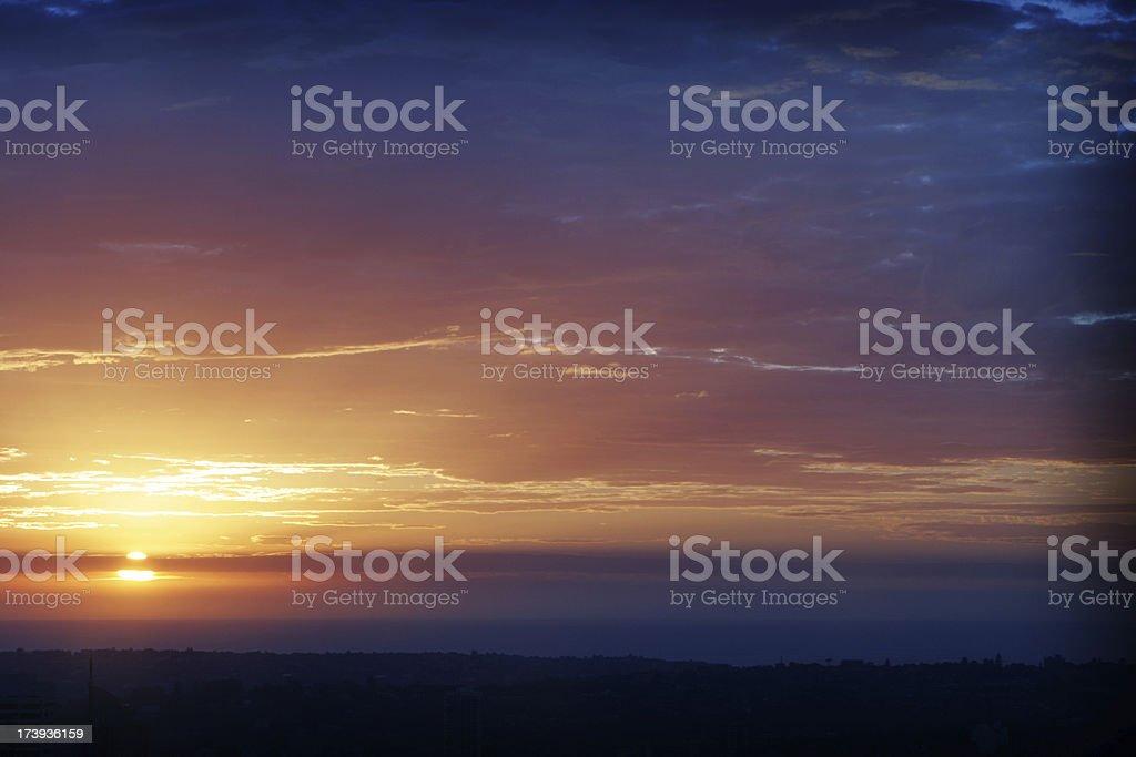 Sweet Sunrise royalty-free stock photo